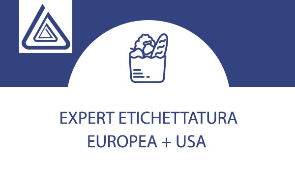 etichettatura europea + usa