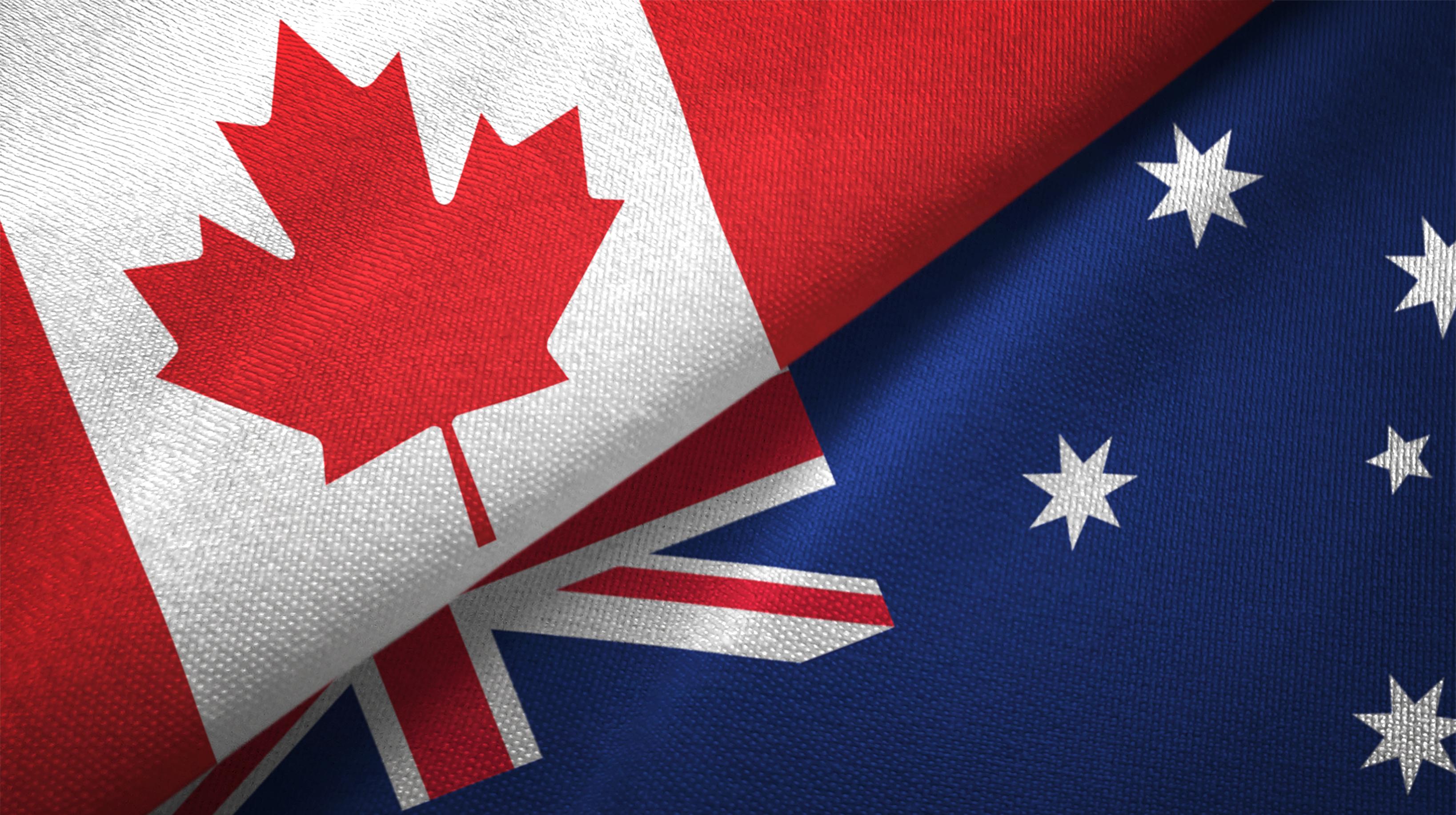 Etichettatura Australia e Canada (online)